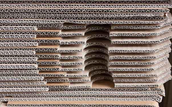 Image de cartons qui représentent souvent une quote-part important des coûts d'emballages d'une entreprise