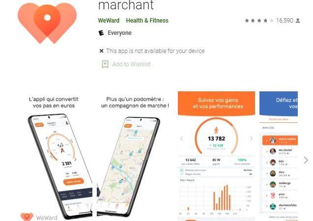 Weward : notre avis sur cette application qui permet de gagner de l'argent en marchant